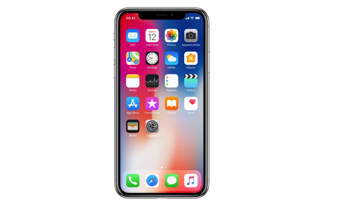 Iphone X : menu
