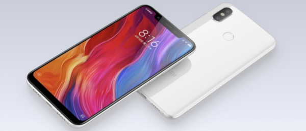 Xiaomi Mi 8 : design semblable à l'iPhone X